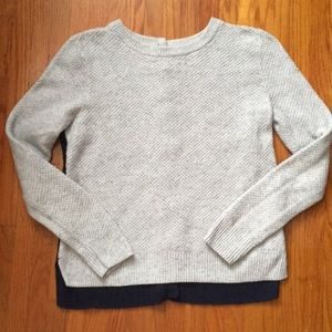 Knit Madewell Sweater with Button-Up Back